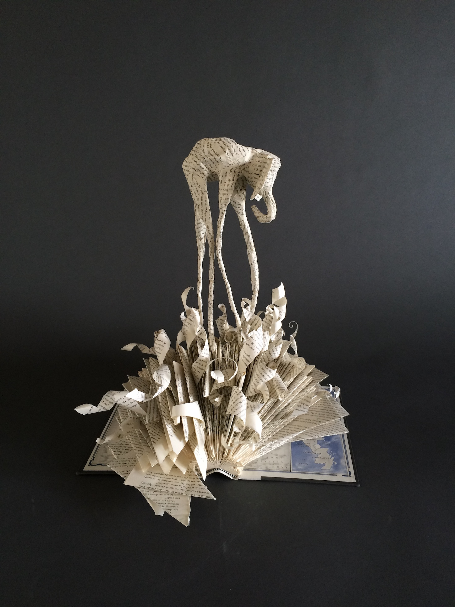 salvador dali book sculpture